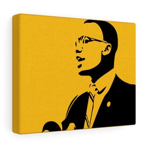 Malcolm X - Influential People Series - Canvas Gallery Wraps