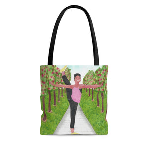 Open image in slideshow, Dancer in the Park Tote Bag