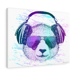 Music Bear on Canvas
