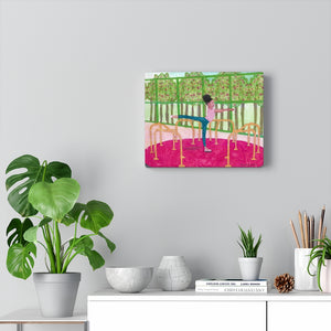 Open image in slideshow, Arabesque in The Park  (Canvas Gallery Wraps)