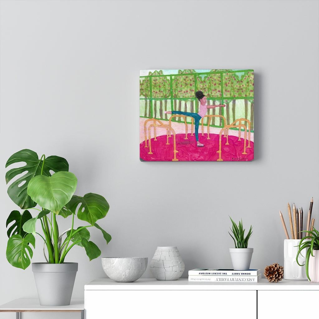 Arabesque in The Park  (Canvas Gallery Wraps)