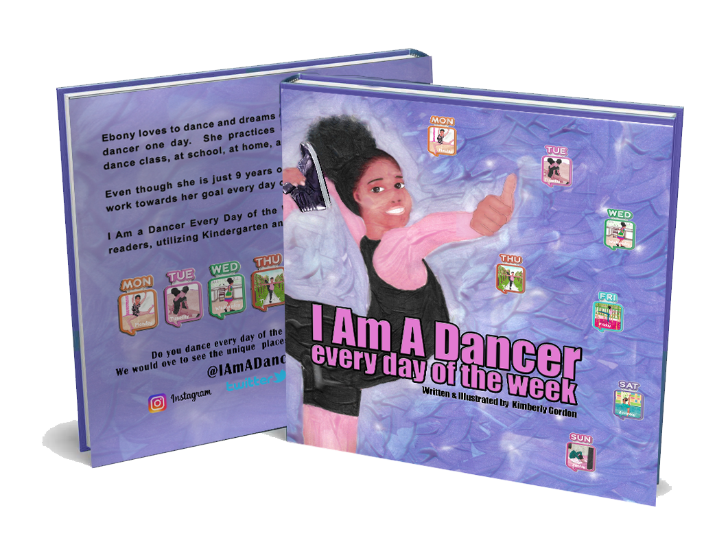 I Am A Dancer Every Day of the Week  Wholesale (50 Paperback Copies) - Free shipping