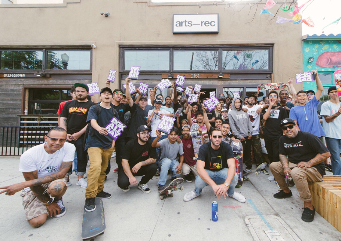 DGK Signing at Arts-Rec Shop