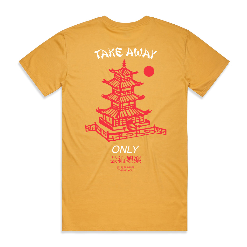Arts-Rec Take Away Tee - Yellow