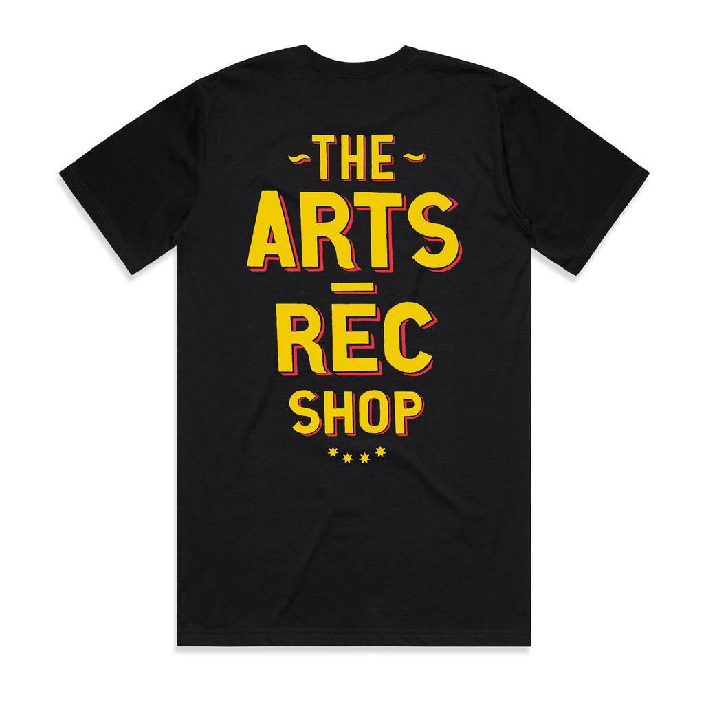 Arts-Rec Butcher Tee - Black