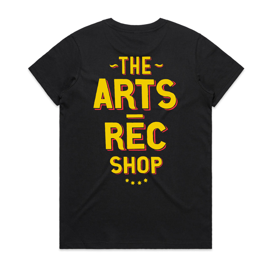 Arts-Rec Butcher Women's Tee - Black