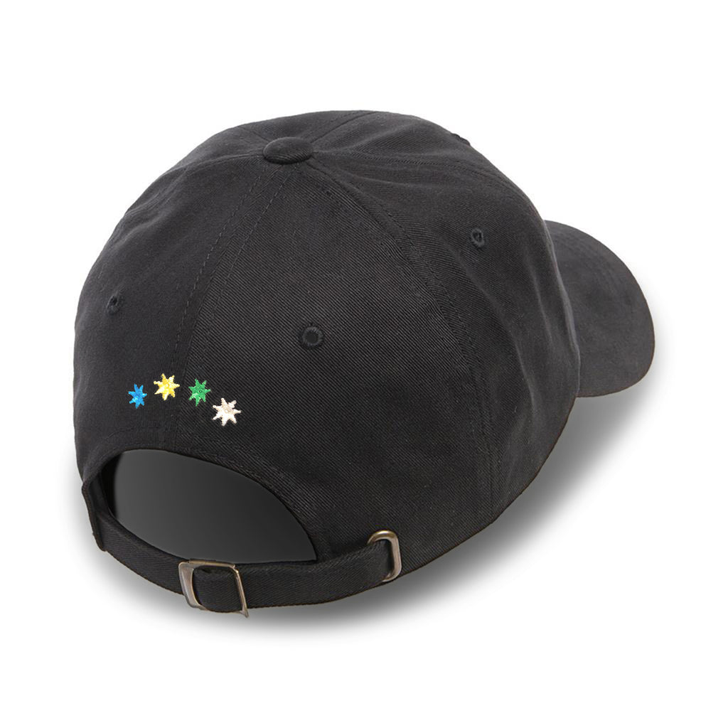 Arts-Rec Logo Dad Hat - Black / Multi Color