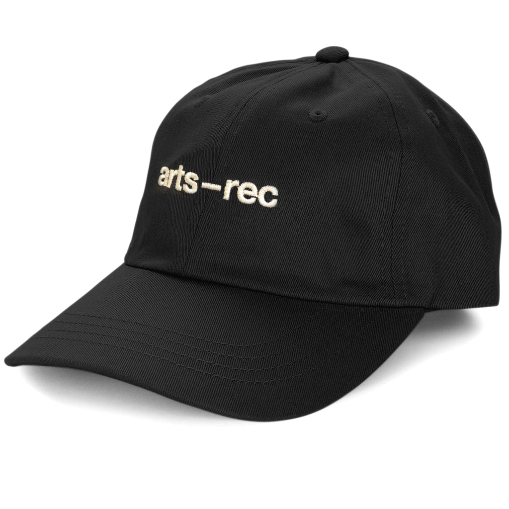 Arts-Rec Logo Dad Hat - Black