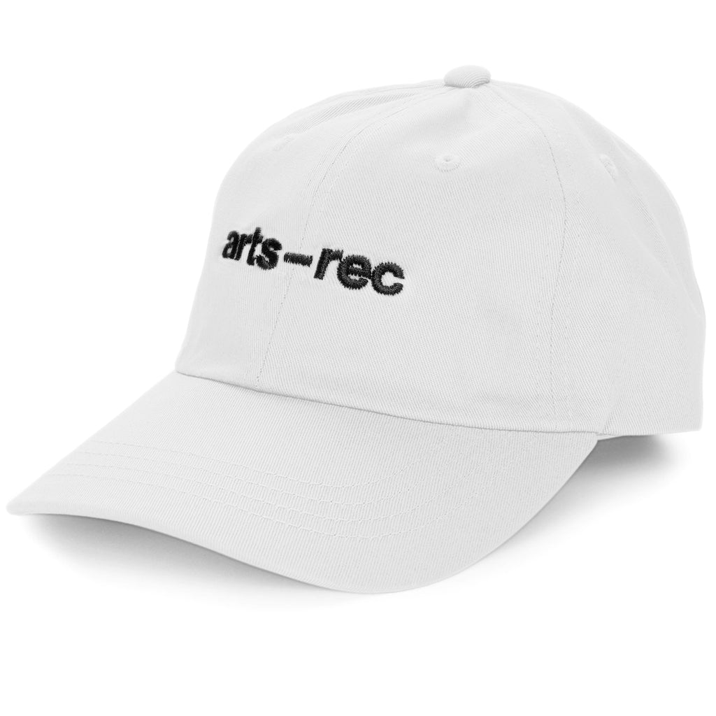 Arts-Rec Logo Dad Hat - White