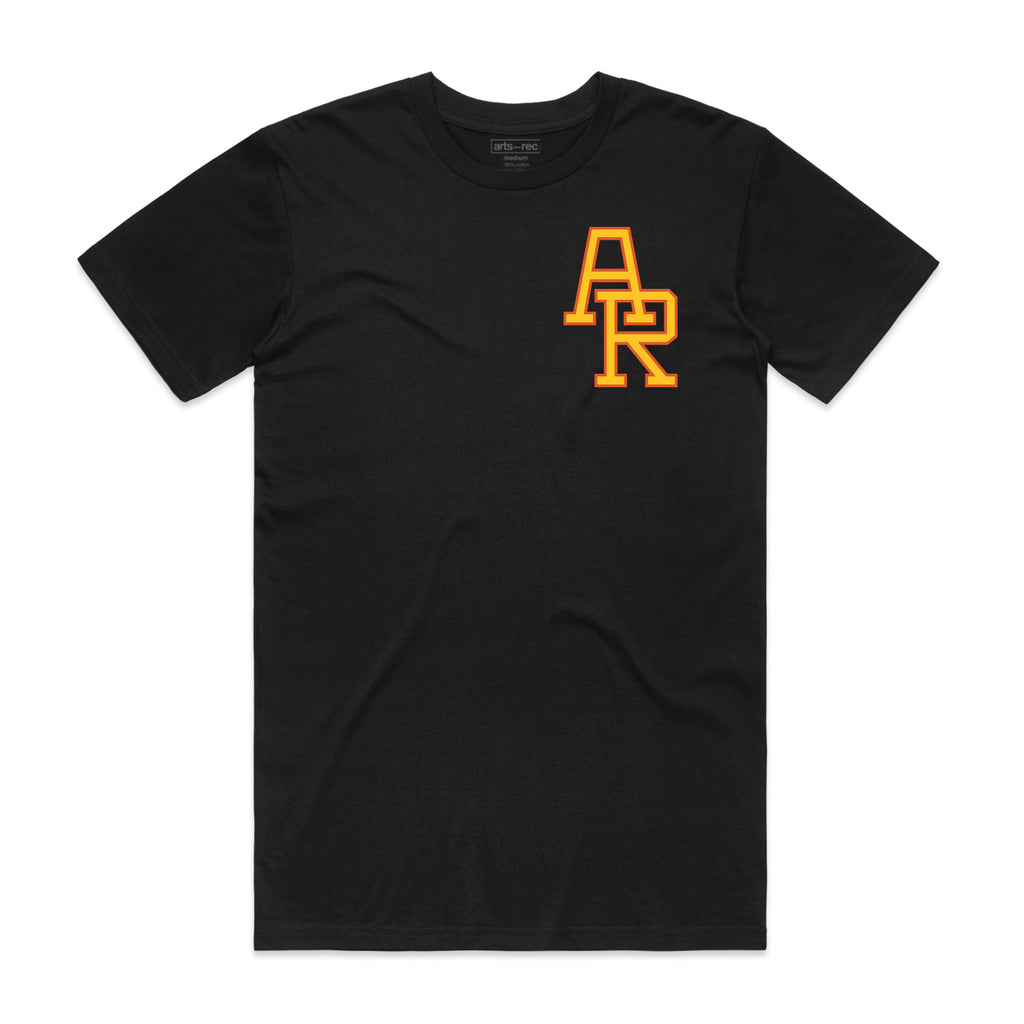 "Arts-Rec ""GOAT"" Tee - Black"