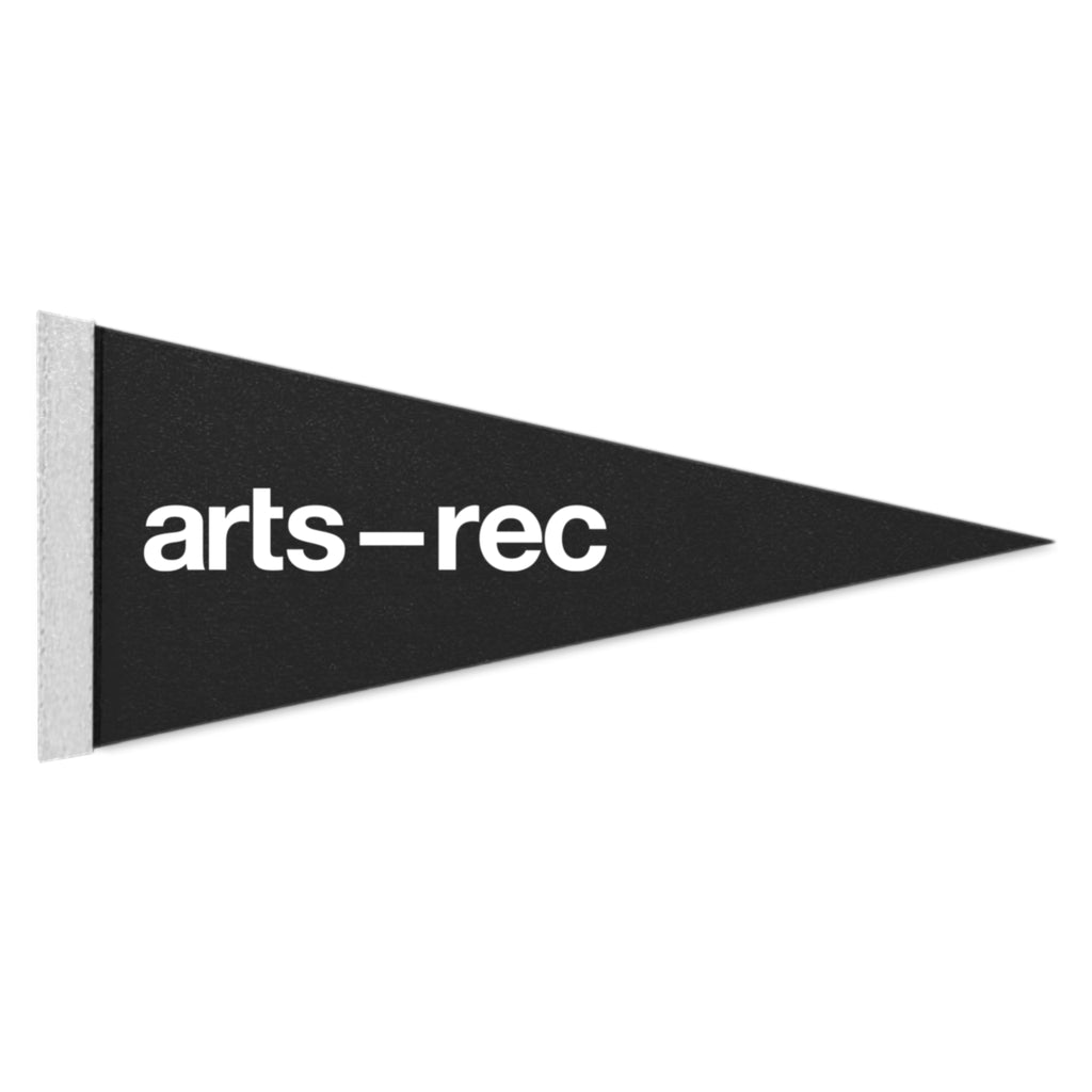Arts-Rec Mini Logo Pennant