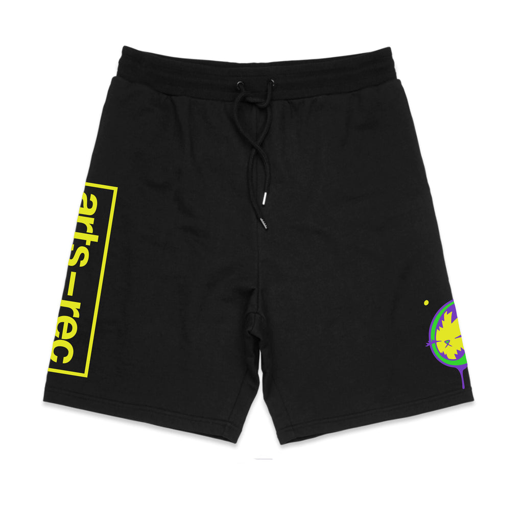 Arts-Rec x BunnyKitty Sweat Shorts - Black