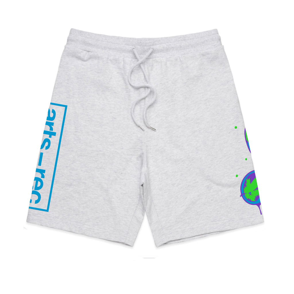 Arts-Rec x BunnyKitty Sweat Shorts - White Heather