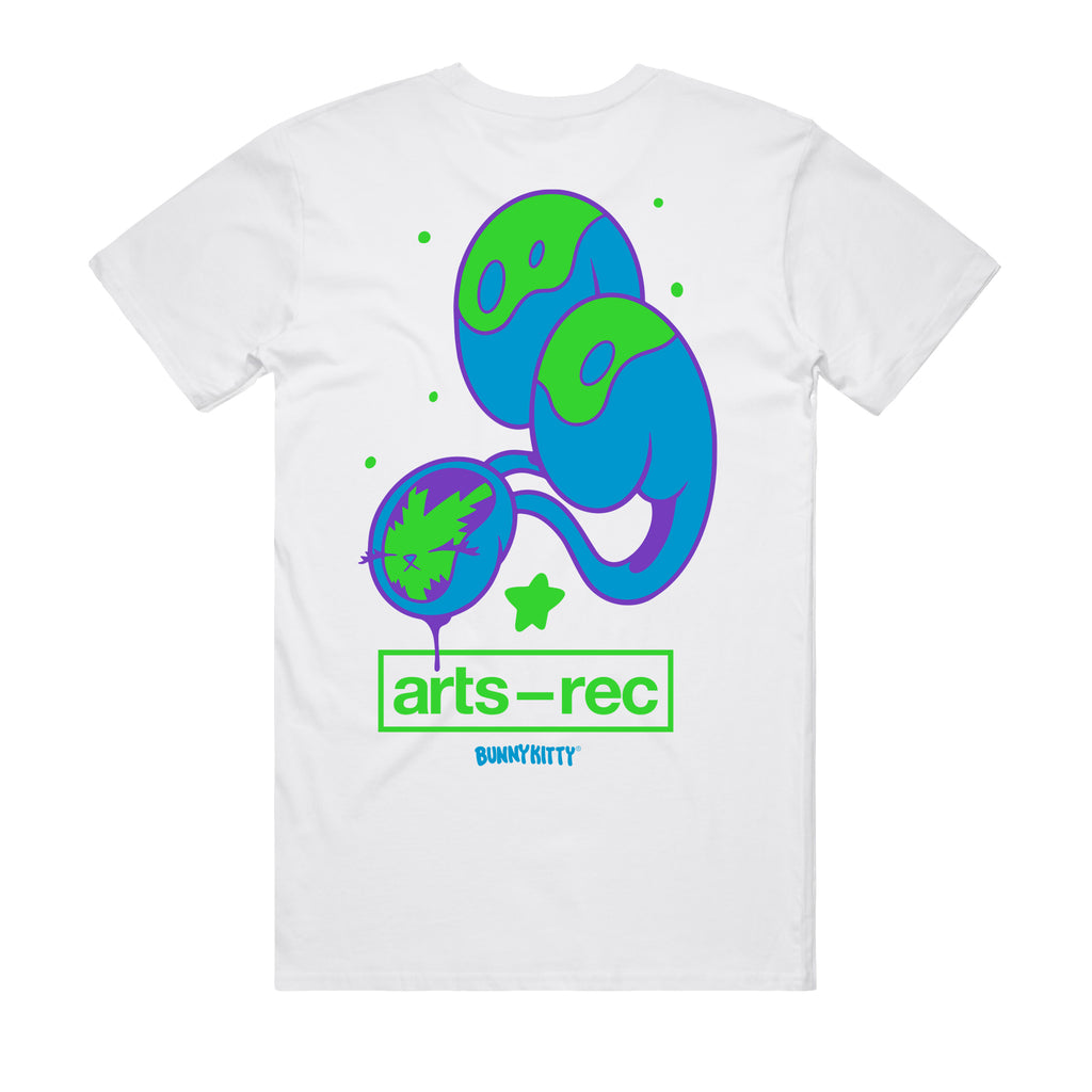 Arts-Rec x BunnyKitty Tee - White
