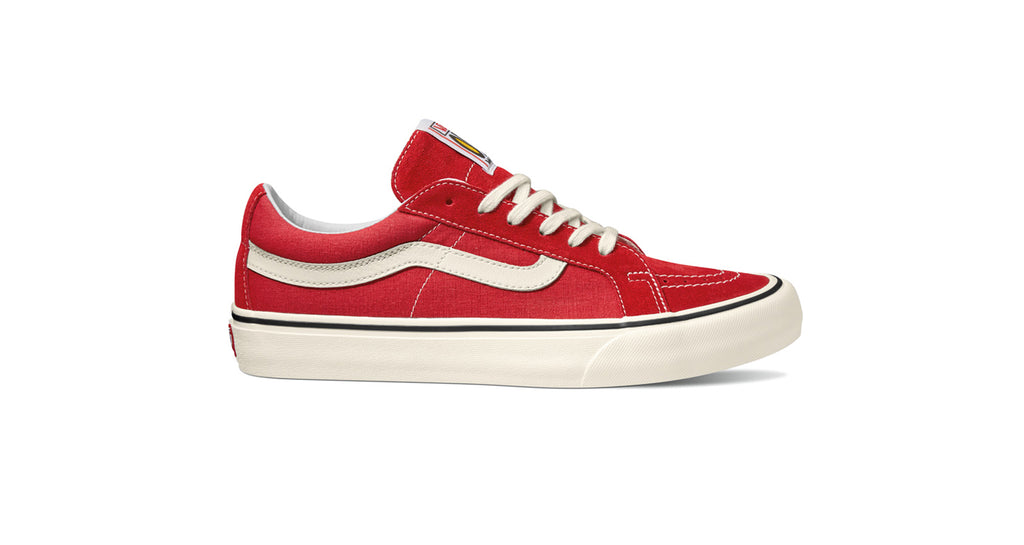 Vans Sk8 Low Reissue SF - (Salt Wash) Red