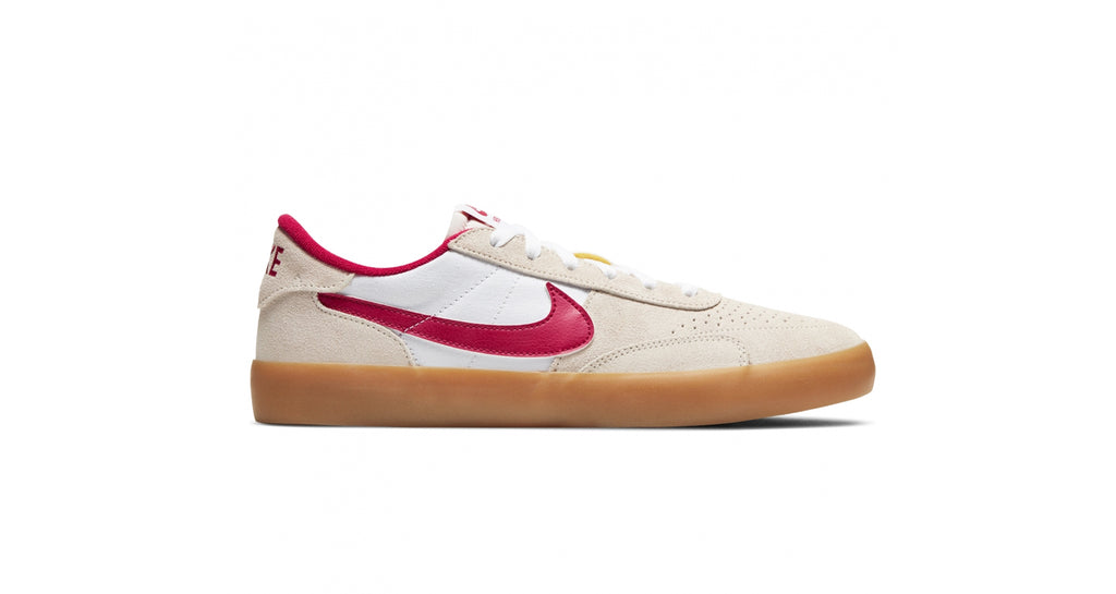 Nike SB Heritage Vulc - Summit White / Cardinal Red