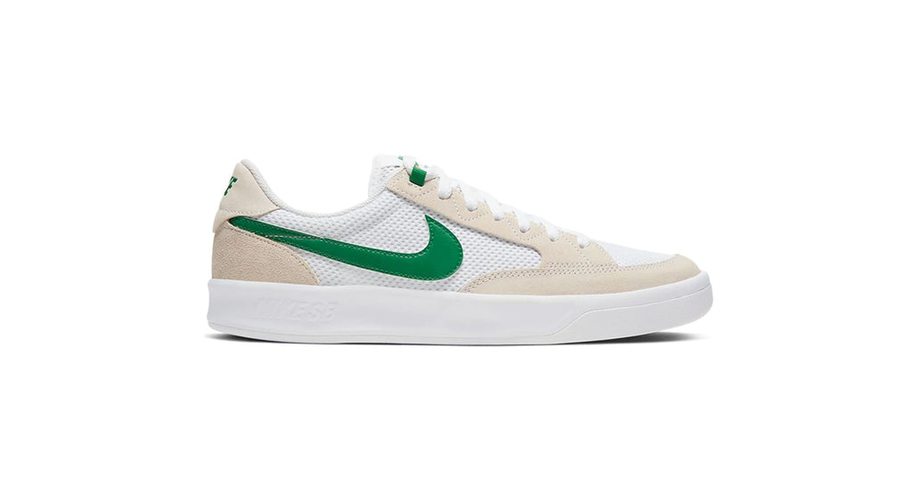 Nike SB Adversary - White / Pine Green