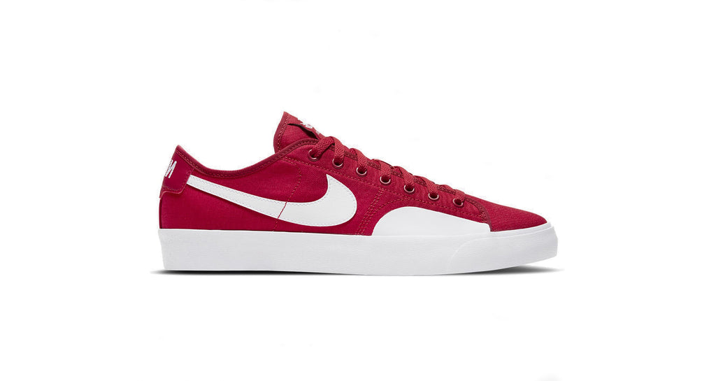 Nike SB Blazer Court - Gym Red / White
