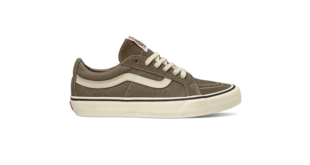 Vans Sk8 Low Reissue S - (Salt Wash) Canteen Antique White