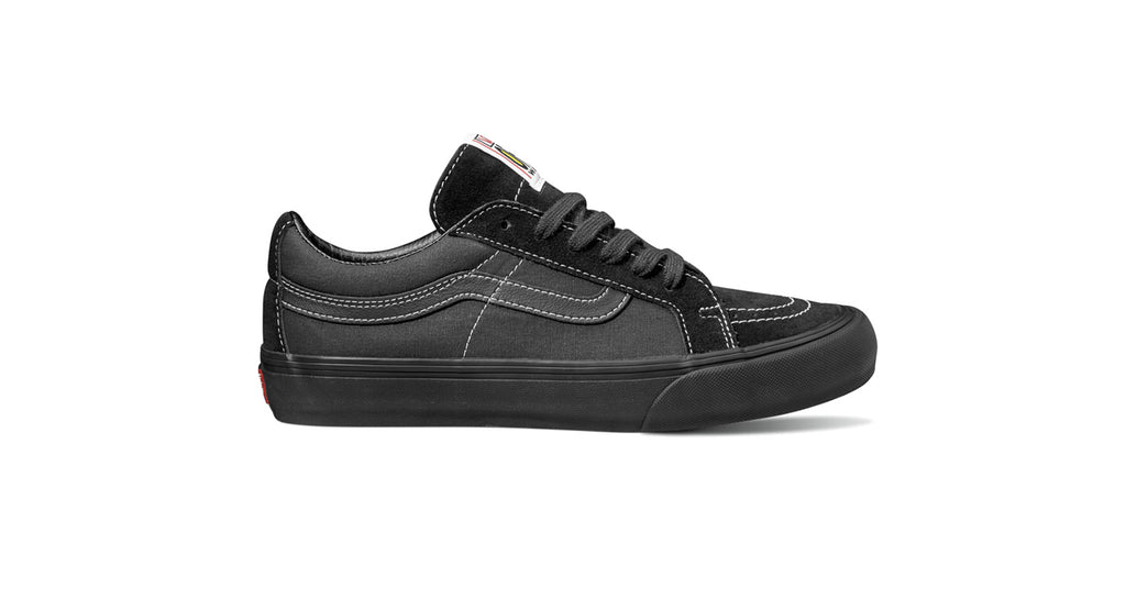 Vans Sk8 Low Reissue S - (Salt Wash) Black