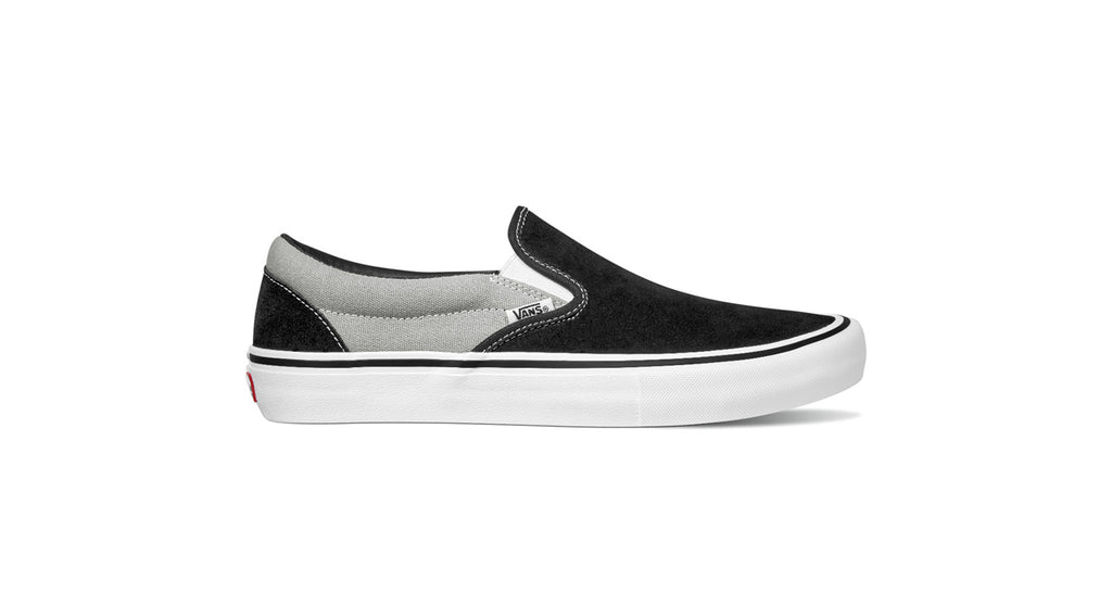 Vans Slip On Pro - (Nation) Black / Silver