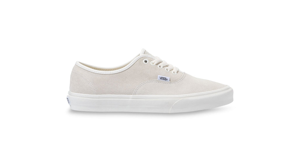 Vans Authentic (Pig Suede) - Marshmallow / True White