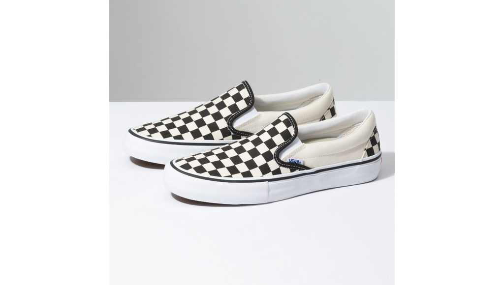 Vans Checkerboard Slip on Pro - Black / White