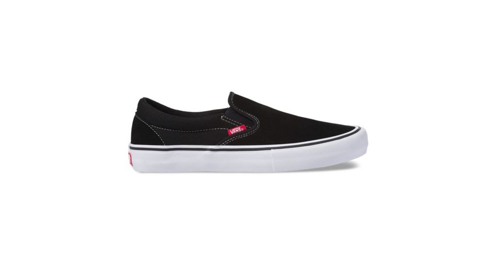 Vans Slip on Pro - Black / White / Gum
