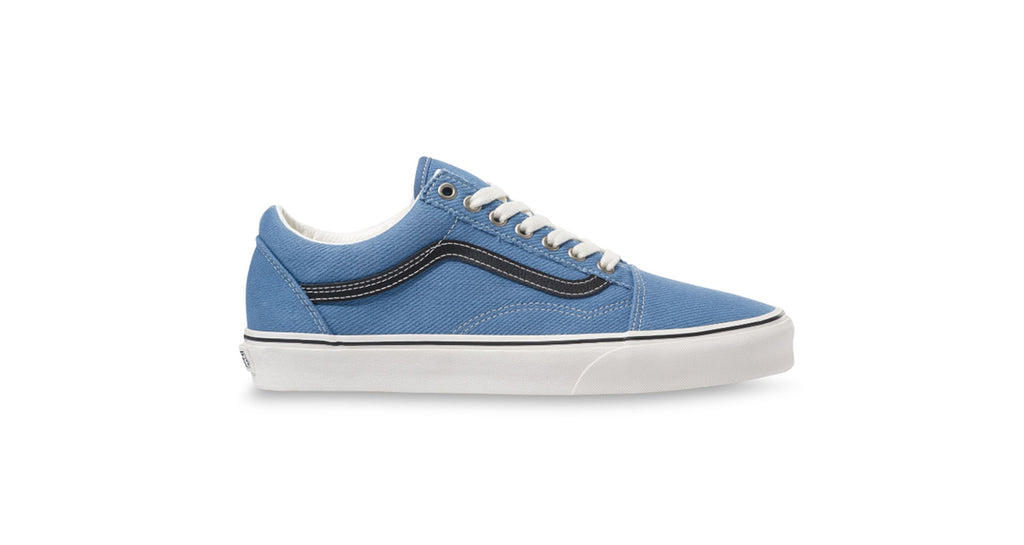 Vans Old Skool - (Earth) Coronet Blue / Marshmallow