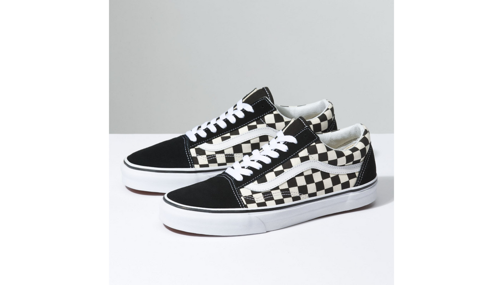 Vans Old Skool Primary Check - Black / White