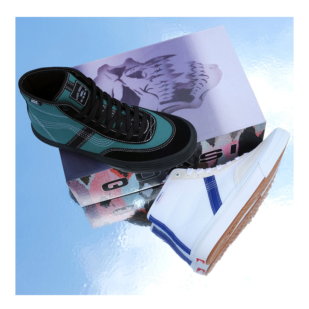 Vans Crockett High Pro (Quasi) - Antique Green / Black