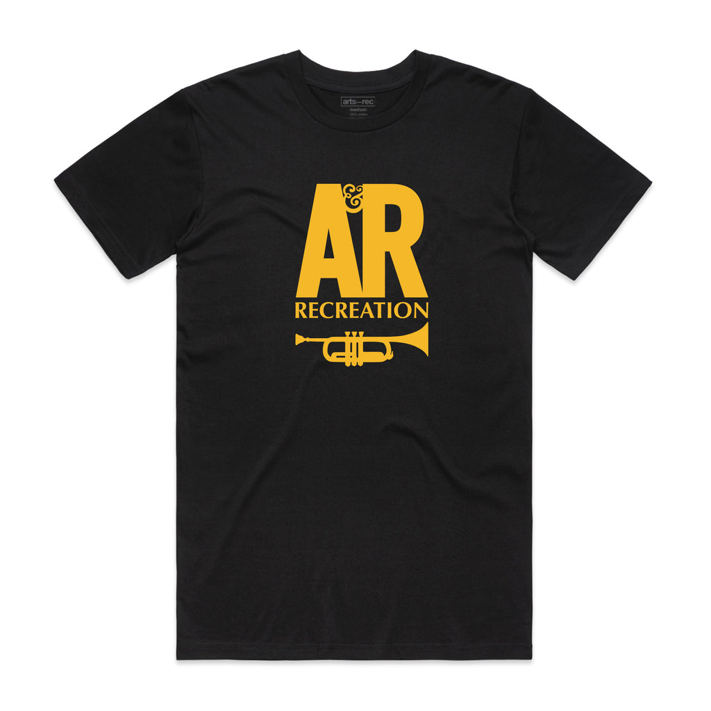 Arts-Rec A&R Records Tee - Black