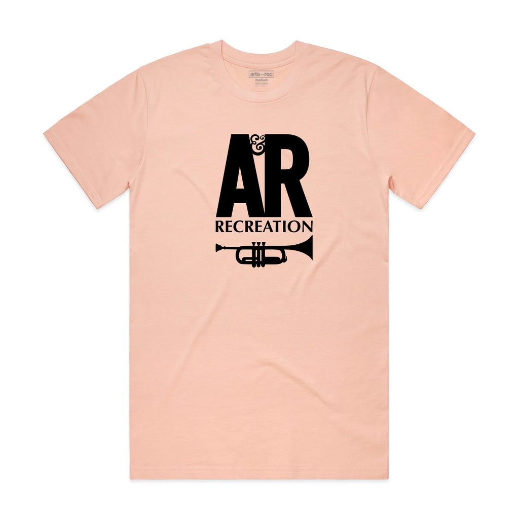 Arts-Rec A&R Records Tee - Pink