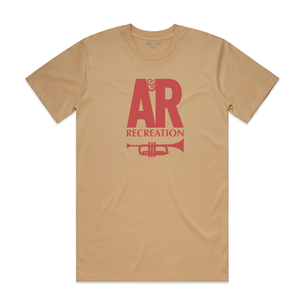 Arts-Rec A&R Records Tee - Tan