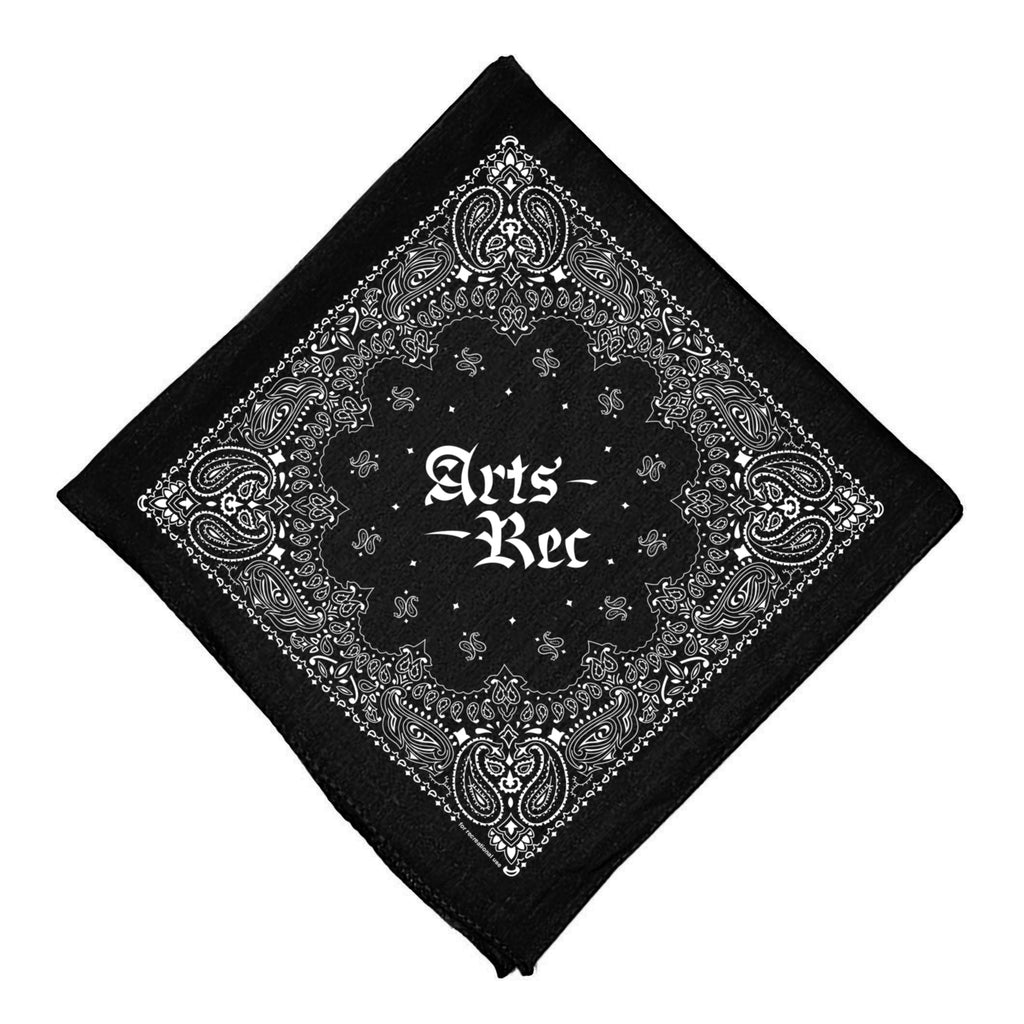 Arts-Rec Bandana - Black