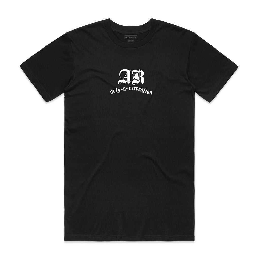 Arts-Rec Bone Tee - Black