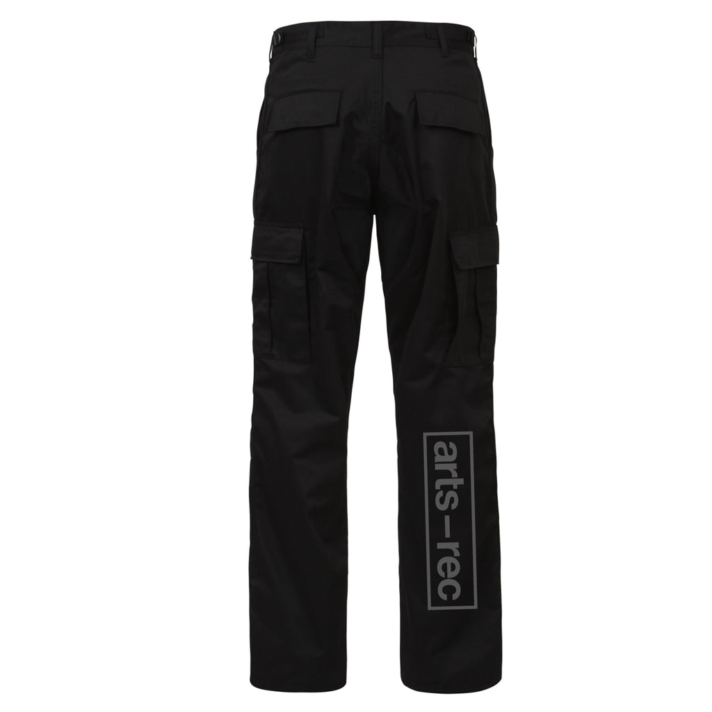 Arts-Rec Team Cargo Pants - Black