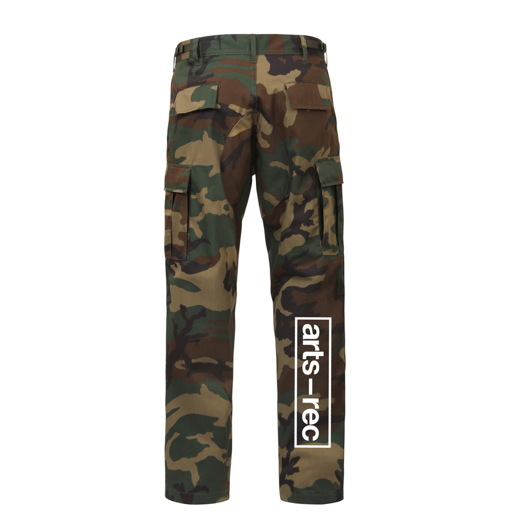 Arts-Rec Team Cargo Pants - Camo