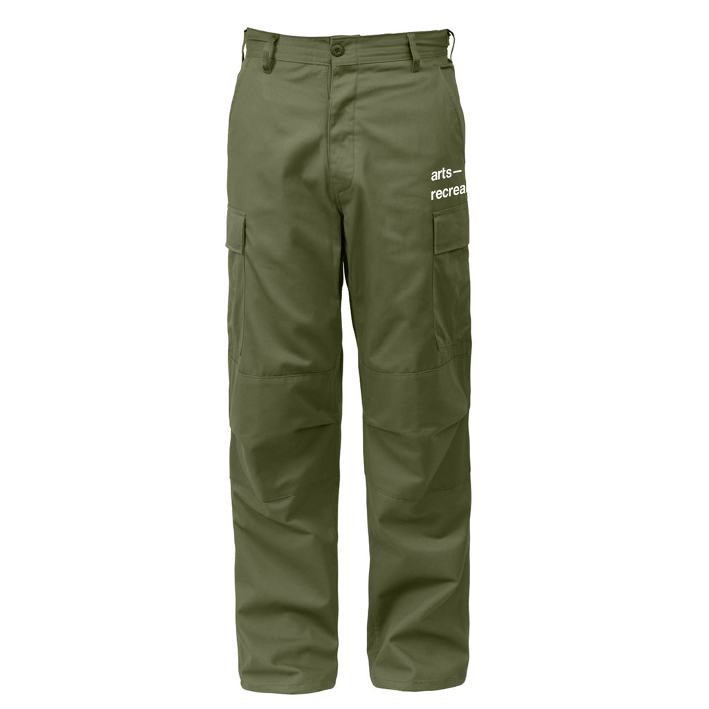 Arts-Rec Team Cargo Pants - Olive
