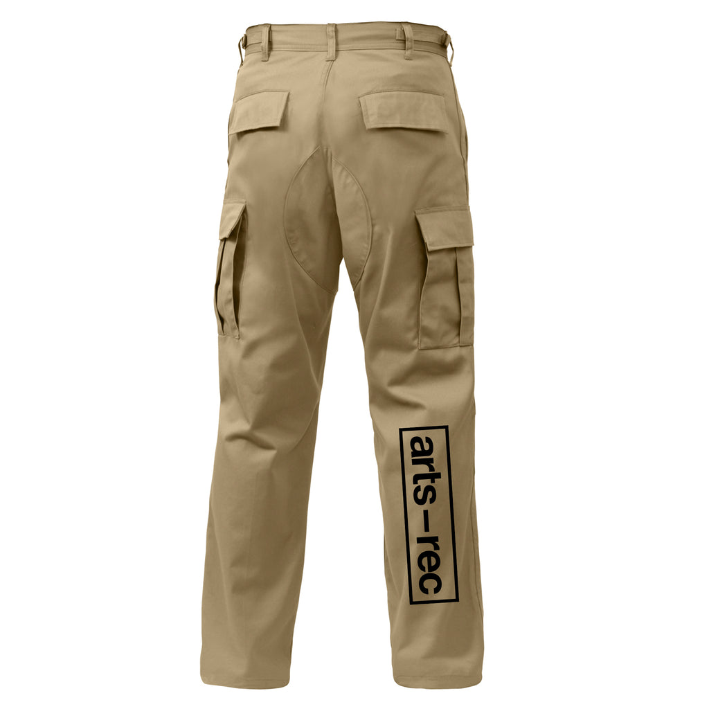 Arts-Rec Team Cargo Pants - Khaki