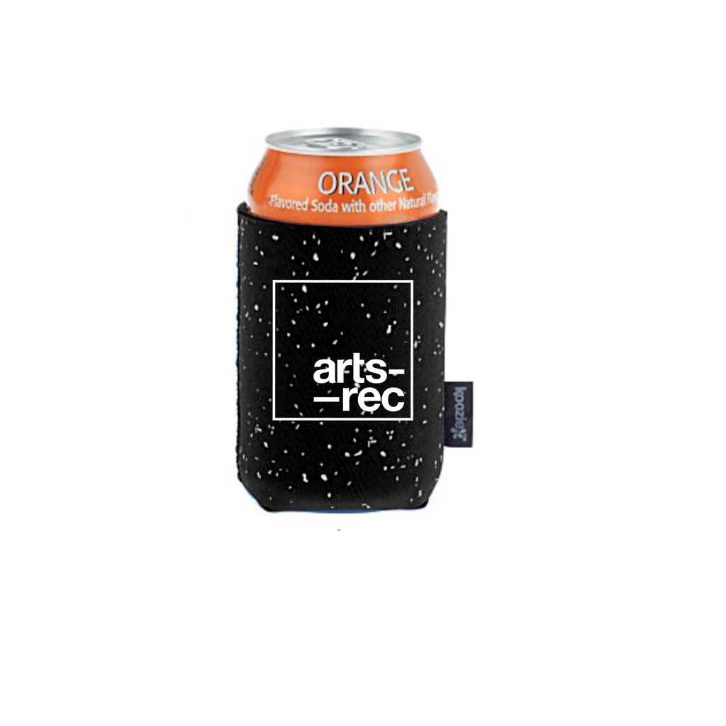 Arts-Rec Heavy Beer Koozie - Black