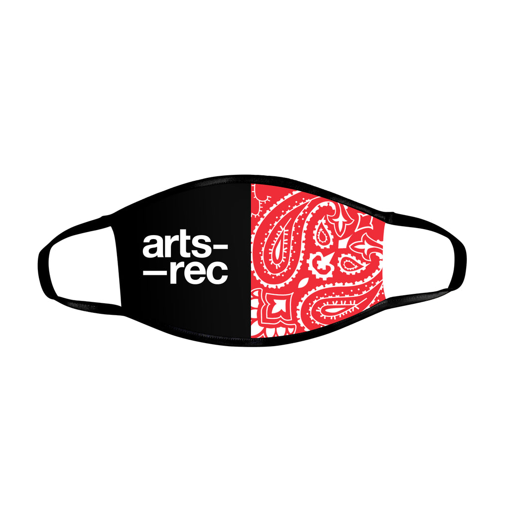 Arts-Rec Face Mask - Paisley