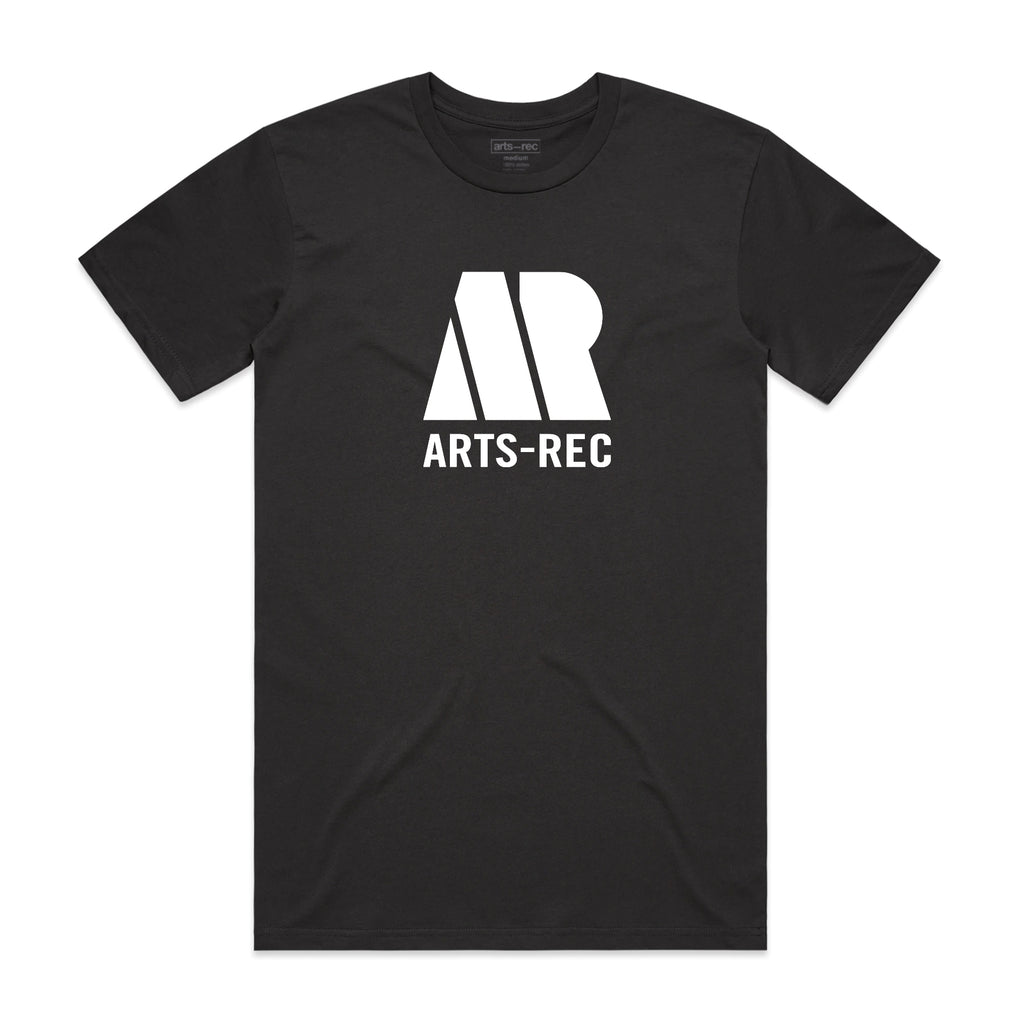 Arts-Rec RecTown Tee - Black Coal