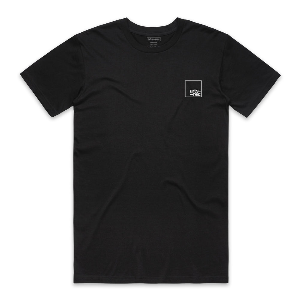 Arts-Rec Crown Tee - Black