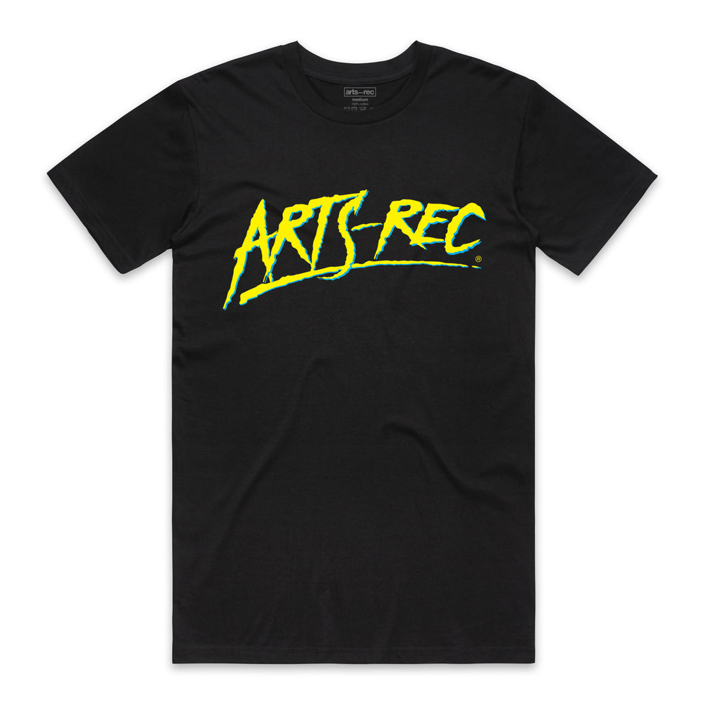 Arts-Rec Skate or Die Tee - Black