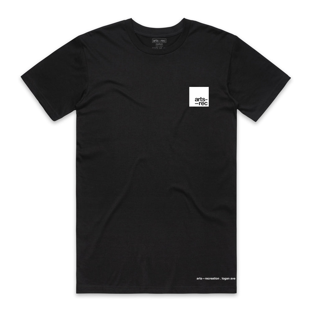 Arts-Rec Team Tee - Black