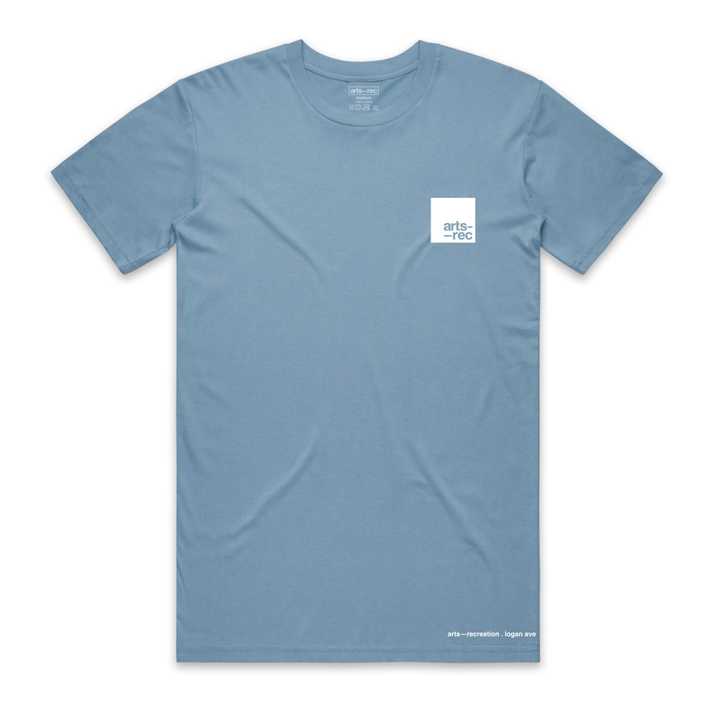 Arts-Rec Team Tee - Carolina Blue