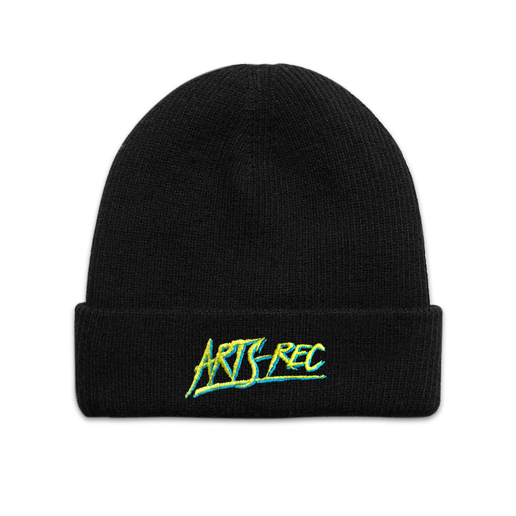 Arts-Rec Skate or Die Cuffed Beanie - Black