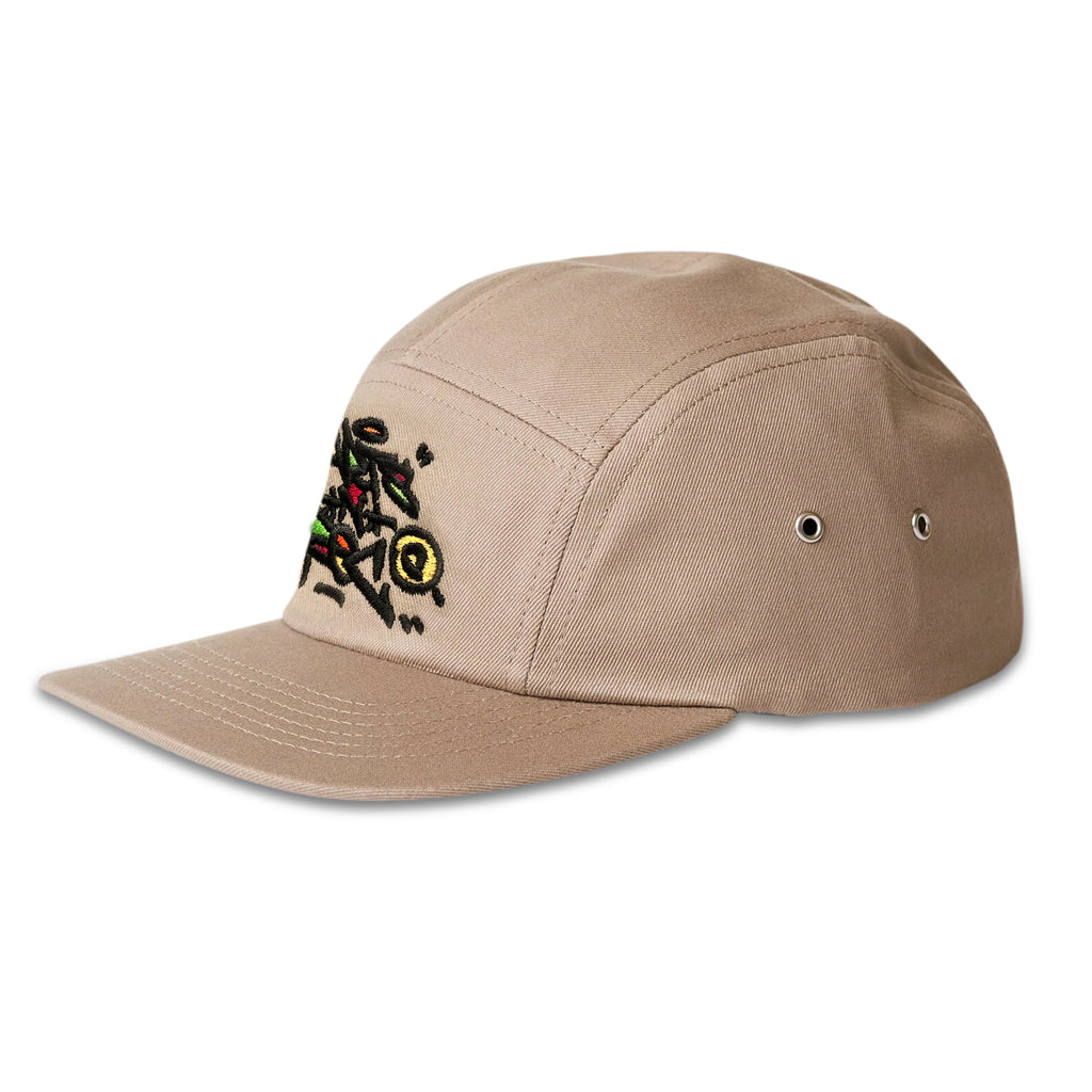 Arts-Rec Tag 5 Panel Hat - Khaki