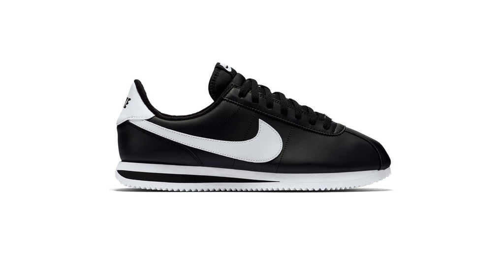 Nike Cortez Basic Leather - Black / White